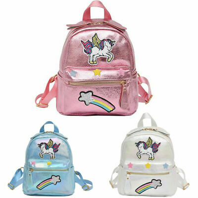 AU38.99 • Buy GIRLS Sequin Unicorn Backpack Girls College School Bag Rucksack Satchel Shopping