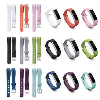 AU3.98 • Buy Fashion Silicone Wristband Band Replacement Strap Sport For Fitbit Alta &Alta HR