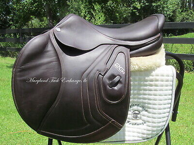 $ CDN6581.94 • Buy 18  CWD 2GS CALFSKIN Close Contact Jumping Saddle-5C Flaps-TALL RIDER!2019 MODEL