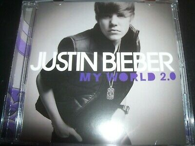 AU10.19 • Buy Justin Bieber – My World 2.0 CD – Like New  Up For Grabs, Justin Bieber – My W