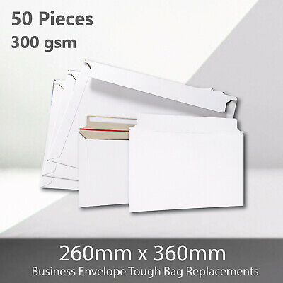 AU23.87 • Buy 50x Card Mailer B4 260 X 360mm 300gsm Business Envelope Tough Bag Replacements