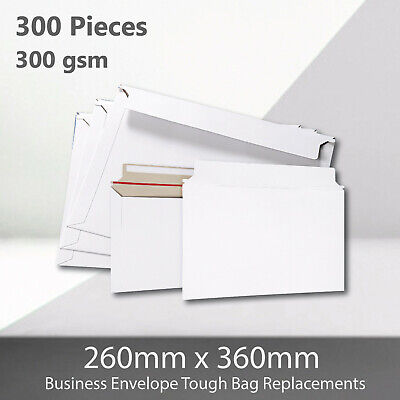 AU81.02 • Buy 300x Card Mailer B4 260 X 360mm 300gsm Business Envelope Tough Bag Replacements