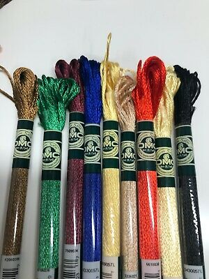 AU2.80 • Buy Brand New DMC Satin Thread YOU CHOOSE YOUR COLOUR