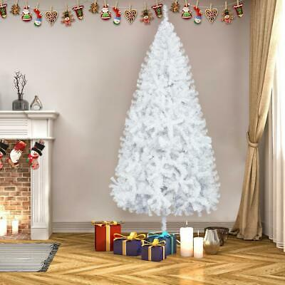 7FT Artificial Christmas Tree Metal Stand Traditional Xmas Tree 950 Branches • 24.95£