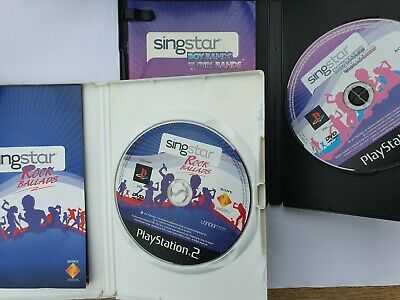 SingStar Rock Ballads And Boy Bands Vs Girl Bands- (PS2) - Game   • 7.99£