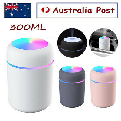 AU15.59 • Buy 300ML Electric Air Diffuser Aroma Oil Humidifier Night Light Up Difuser Home
