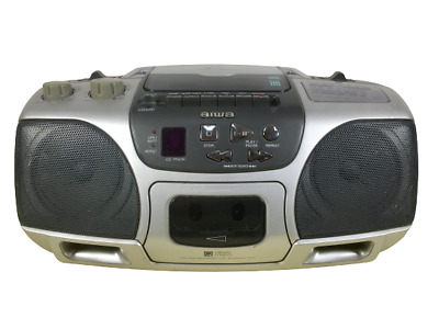AIWA CSD-ES227 CD STEREO FM/MW/LW RADIO/CD PLAYER Boombox Ghetto Blaster TESTED • 19.95£