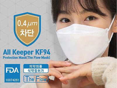 AU28 • Buy ALL KEEPER KF94 Protection Maskx1 (The Flow Mask) FDA Certificate. MADE IN KOREA