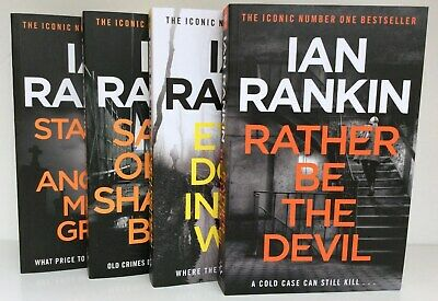 Rebus Collection Books 18 -21 , Ian Rankin 4 Paperbacks Rather Be The Devil, NEW • 12.99£