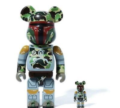 $715 • Buy STAR WARS × BAPE BE@RBRICK Medicom Toy 400% & 100%