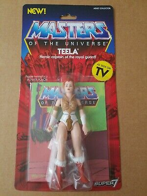 $24 • Buy Masters Of The Universe VINTAGE STYLE TEELA 5 1/2   ACTION FIGURE MOTU SUPER 7