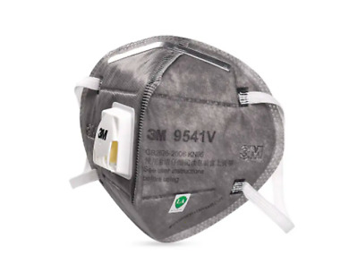 AU15.99 • Buy 3M 9541V Face Mask KN95 P2 N95 Particulate Respirator Mask With Valve (1 Mask)