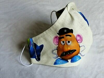 AU8.25 • Buy Washable Cotton Face Mask, 4-10year Old, Toy Story,  Handmade In  Aus