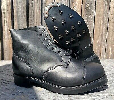 $103.14 • Buy Ammo Ammunition Dress Boots With Studs Size 13 Large British Army Issue
