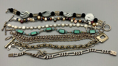 $ CDN105.67 • Buy Vintage Sterling Silver Bracelet HUGE LOT 925 107 Grams