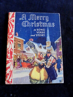 $ CDN22.74 • Buy Vintage A Merry Christmas In Song Verse And Story, 16 Pages, Book 11 X9 , MCMXL