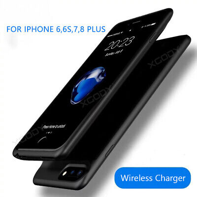 AU33.98 • Buy For IPhone 6 7 8Plus XS Battery Backup Case Power Bank Charging Cover Ultra-Thin