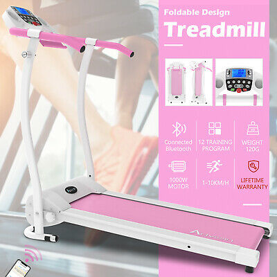 AU359.90 • Buy Electric Treadmill Incline Fitness Equipment Run Exercise Machine Home Gym Pink