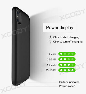 AU32.89 • Buy Ultra-Thin Battery Power Charger Charging Case Cover 3800mah For IPhone X XS