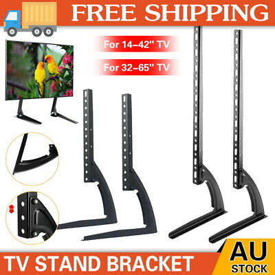 AU25.20 • Buy Universal Table Top TV Stand Leg Mount LED LCD Flat TV Screen 14-65  For Sony LG