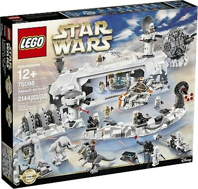 AU374 • Buy Lego Star Wars Assault On Hoth 75098 Brand New Sealed