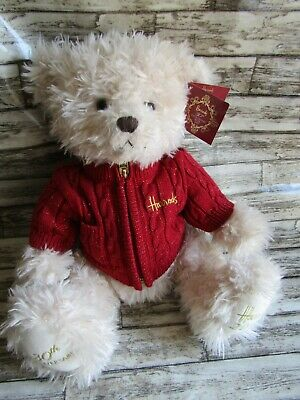 "Harrods 2015 30th Anniversary Teddy Bear 13"" Still Tagged VGC • 30£"
