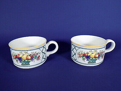 Villeroy & Boch Basket 2 Tea Cups • 18£