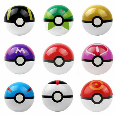 Pokemon Go Pokeball Pop-up 7cm Plastic Ball Toy Action Figure Games • 7.49£