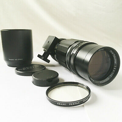 $ CDN65.17 • Buy Pentax M42 Screw Mount Tele-Takumar 300mm F/6.3 Lens & Original Case.