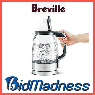 AU59 • Buy BREVILLE BKE595CLR  1.7L / 7 CUP  The CRYSTAL CLEAR KETTLE - SHOCK RESISTANT