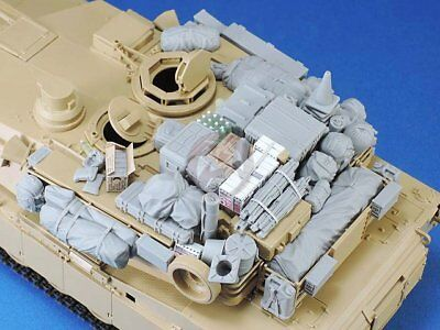 $54.86 • Buy Legend 1/35 M1A1 / M1A2 Abrams MBT Tank Stowage And Accessories Set III LF1359