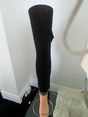 £3.25 • Buy Womans Black Footless Tights. One Size.    SKU 381