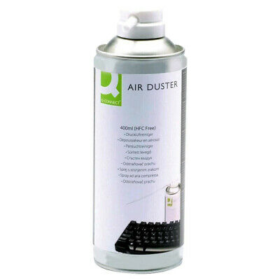 Q Connect Compressed Gas Air Duster Dust Blower Spray Cleaner Aerosol Can 400ml • 6.47£