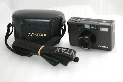 $ CDN3064.07 • Buy  Near MINT In CASE Contax T3 Titanium BLACK  35mm SLR Film *Double Teeth* #3862