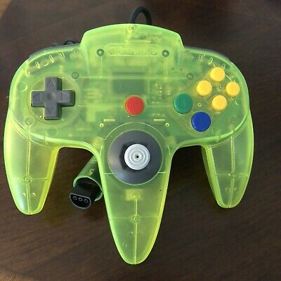 $ CDN79.79 • Buy Official Extreme Lime Green Nintendo 64 Controller N64 Working & Tested - Tight