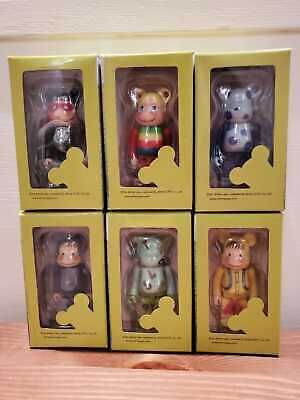 $240 • Buy Be@rbrick Jimmy Liao 100% Limited Lot Of 6 Bearbrick Medicom Exclusive