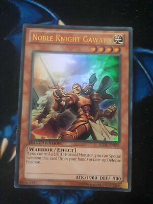 Noble Knight Gawayn REDU-ENSP1 Ultra Rare Limited Edition YuGiOh • 2.99£