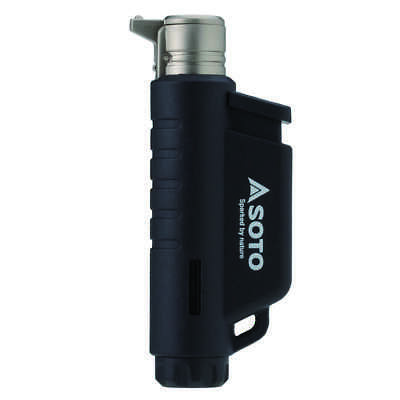 Soto Micro Torch - Vertical Nozzled Lighter - Black / Blue / Orange • 15.99£