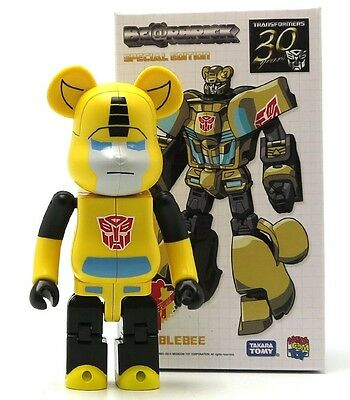 $59.99 • Buy Transformers Bumblebee 200% Bearbrick 30 Years Special Edition Be@rbrick