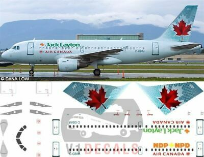 £11.12 • Buy V1 Decals Airbus A319 Air Canada For 1/144 Revell Model Airplane Kit V1D0095