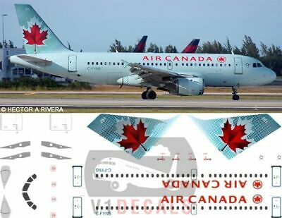 £11.12 • Buy V1 Decals Airbus A319 Air Canada For 1/144 Revell Model Airplane Kit V1D0089