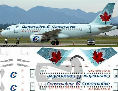 £11.12 • Buy V1 Decals Airbus A319 Air Canada For 1/144 Revell Model Airplane Kit V1D0093