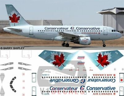 £11.12 • Buy V1 Decals Airbus A319 Air Canada For 1/144 Revell Model Airplane Kit V1D0094