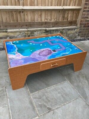 Childrens Train Table - Car Table - Play Table - Lego Table -Childrens Furniture • 17.50£
