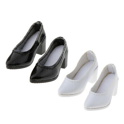 $23.18 • Buy 2Pairs 1/6 Scale High Heel Shoes For 12  BBI DML DID Enterbay Figures Accs