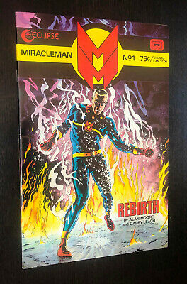 £5.10 • Buy MIRACLEMAN #1 (Eclipse 1985) -- Alan Moore -- VF Or Better