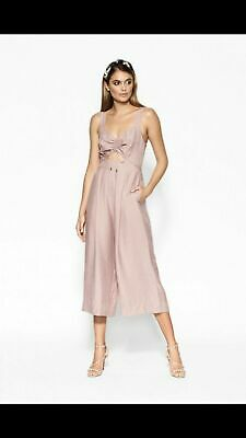 AU46 • Buy Sheike Illusion Jumpsuit In Blush Size 14 NWOT