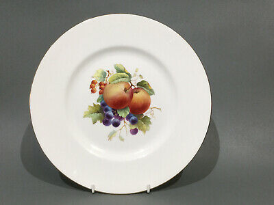 Minton Bone China Cabinet Plate - Hand Painted Fruit By A Holland • 39.50£