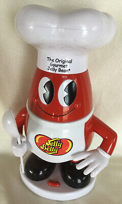 Sweet Talking Mr. Jelly Belly Bean Sound Candy Dispenser Jar Container  Used • 15.42£