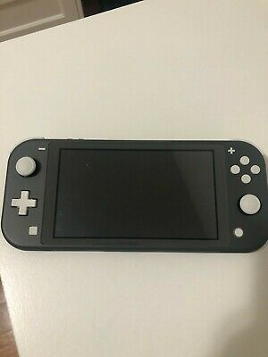 $ CDN375 • Buy Nintendo Switch Lite Gray Console With Animal Crossing Game